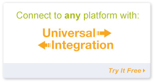 Connect to any platform with Universal Integration
